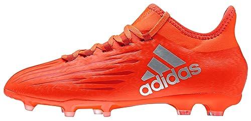 size 40 437ed 22428 adidas - X 16.1 Fg J, Scarpe da calcio Bambino, Rosso (Rojo (