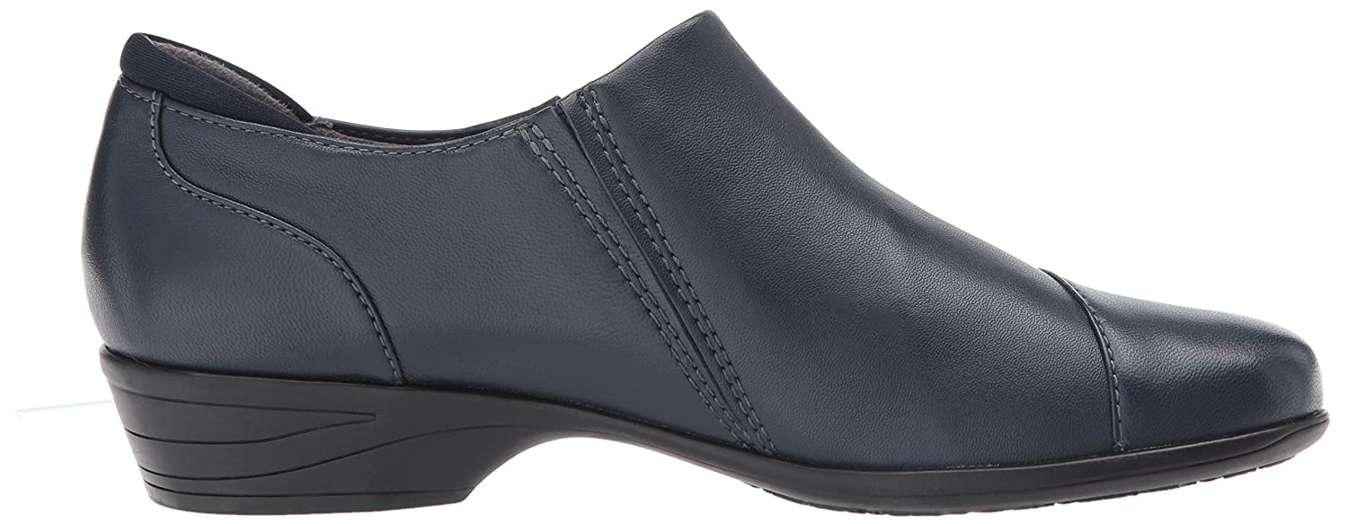 SoftWalk Women's Charming Ankle Bootie B071J3GKRB 10.5 W US|Navy