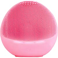 Zyllion Silicone Facial Cleansing Brush - Electric Face Scrubber Massager for Gentle Exfoliating, Deep Cleanse, Skin…
