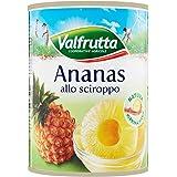 Valfrutta - Ananas, Allo Sciroppo - 4 pezzi da 565 g [2260 g]