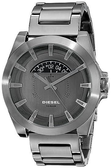 Diesel para hombre DZ1692 Arges Analógico de Cuarzo Gris Reloj: Amazon.es: Relojes