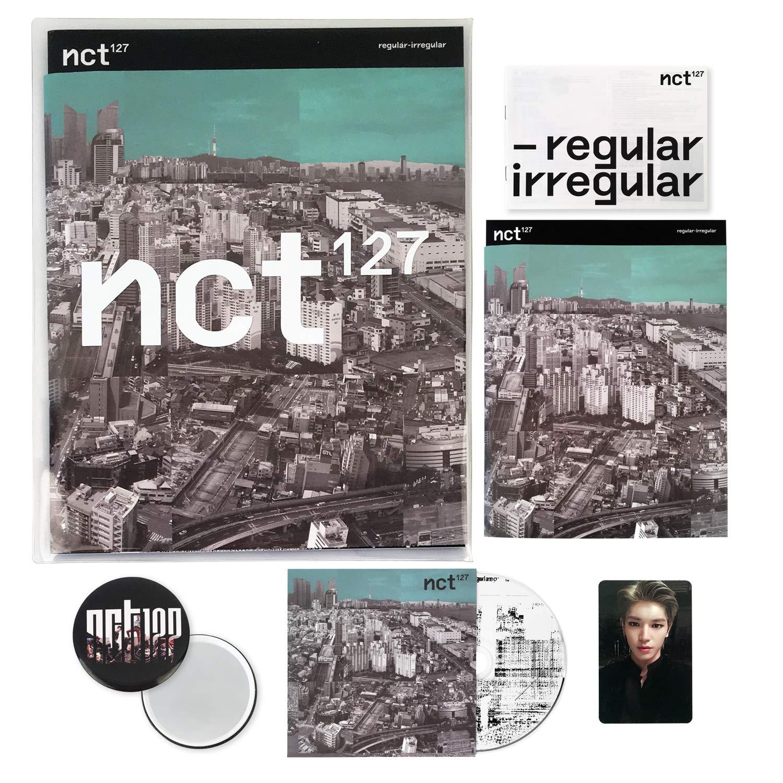 Attention brand NCT 127 1st Album - New product type Regular-Irregular ver. # IRREGULAR