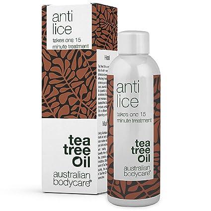 Australian Bodycare Anti Lice – Einfache und Einmalige 15 Min. Kopfläusebehandlung mit Teebaumöl von höchster Qualität & Dime