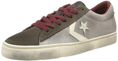 331aecc5f021 Converse. Men. pro Leather Vulc ox Suede LTH. Gray (Grey dust Black ...