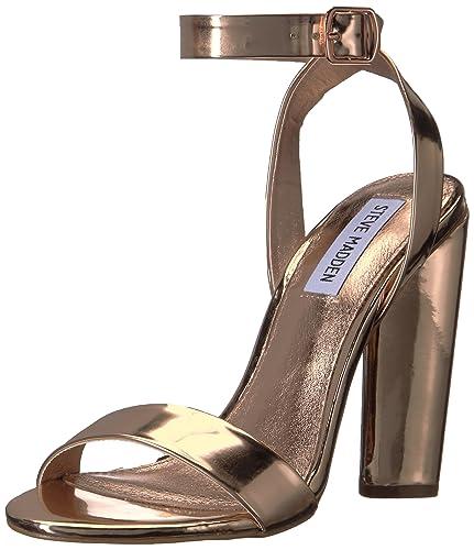 Steve Madden Women's Treasure Dress Sandal, Rose Gold, ...