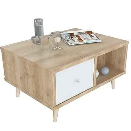 Inval America Scandia MCS 9806 Maple Coffee Table