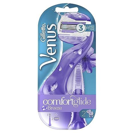 Venus Gillette Breeze - Maquinilla de afeitar para mujer  Amazon.es ... 3e03fb08ea80