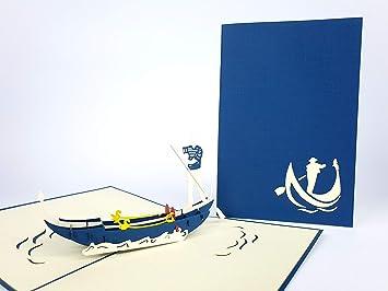 Venise Gondole Di San Marco Italie 3d Pop Up Cartes De Vœux