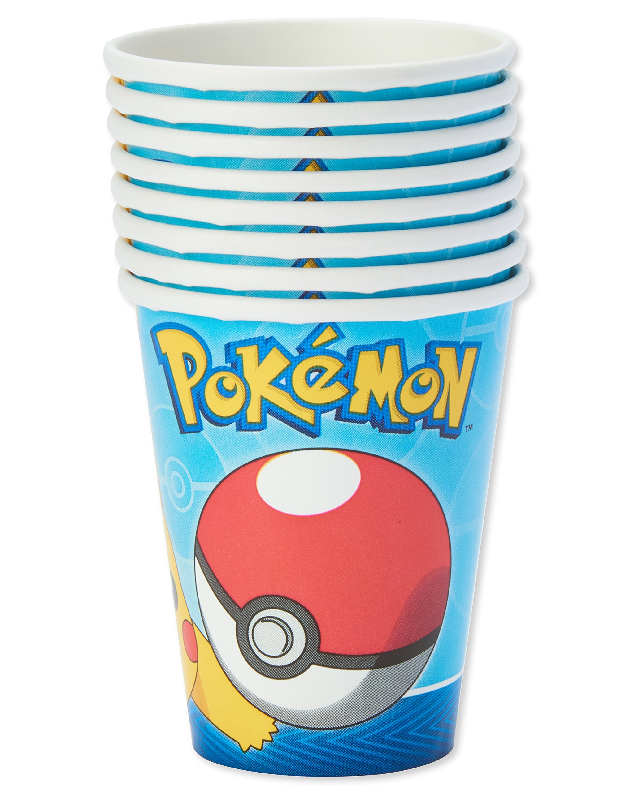 American Greetings Pokemon Paper Party Cups, 32-Count, Paper Cups by American Greetings (Image #3)