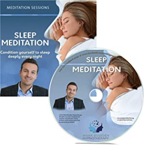 Sleep Meditation Self Hypnosis CD / MP3 and APP (3 IN 1 PURCHASE!) - Guided Mindfulness and Relaxation session for deep sleeping from Mark Bowden Hypnotherapy