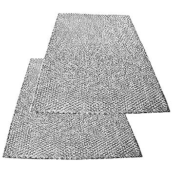 Spares2go grande aluminio malla filtro para Teka campana extractora/extractor ventilación (Pack de 2