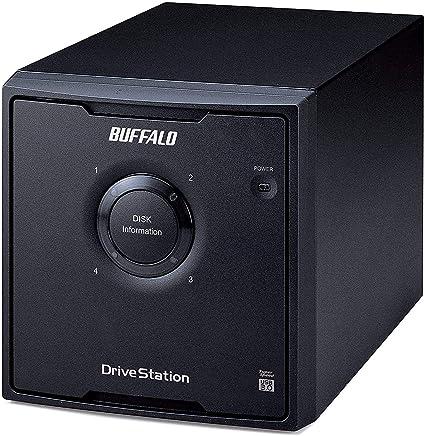 バッファロー HDーQH12TU3/R5 RAID 5対応 USB3.0 外付けHD