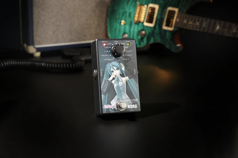 Amazon Korg Miku Stomp Vocaloid Guitar Effects Pedal Musical