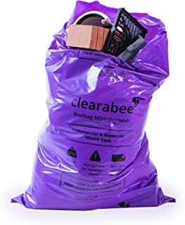 120 Litre, Pack of 10 Spares2go Large Extra Strong Garden Waste Rubbish Bag Sack