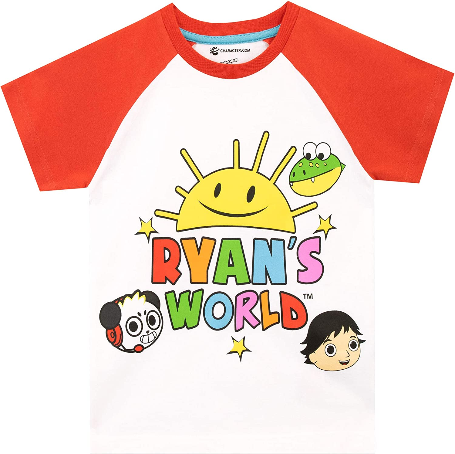 Boys Clothes Set Ryans T-Shirt World Tracksuits Long Sleeve Top And Trousers YouTube Toy Review