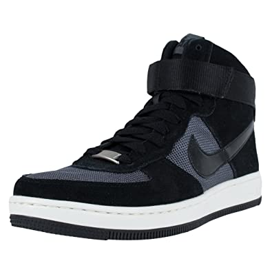 Nike W Air Force 1 Ultra Force MID Women s Sneaker Black 654851 009 59c90a19e