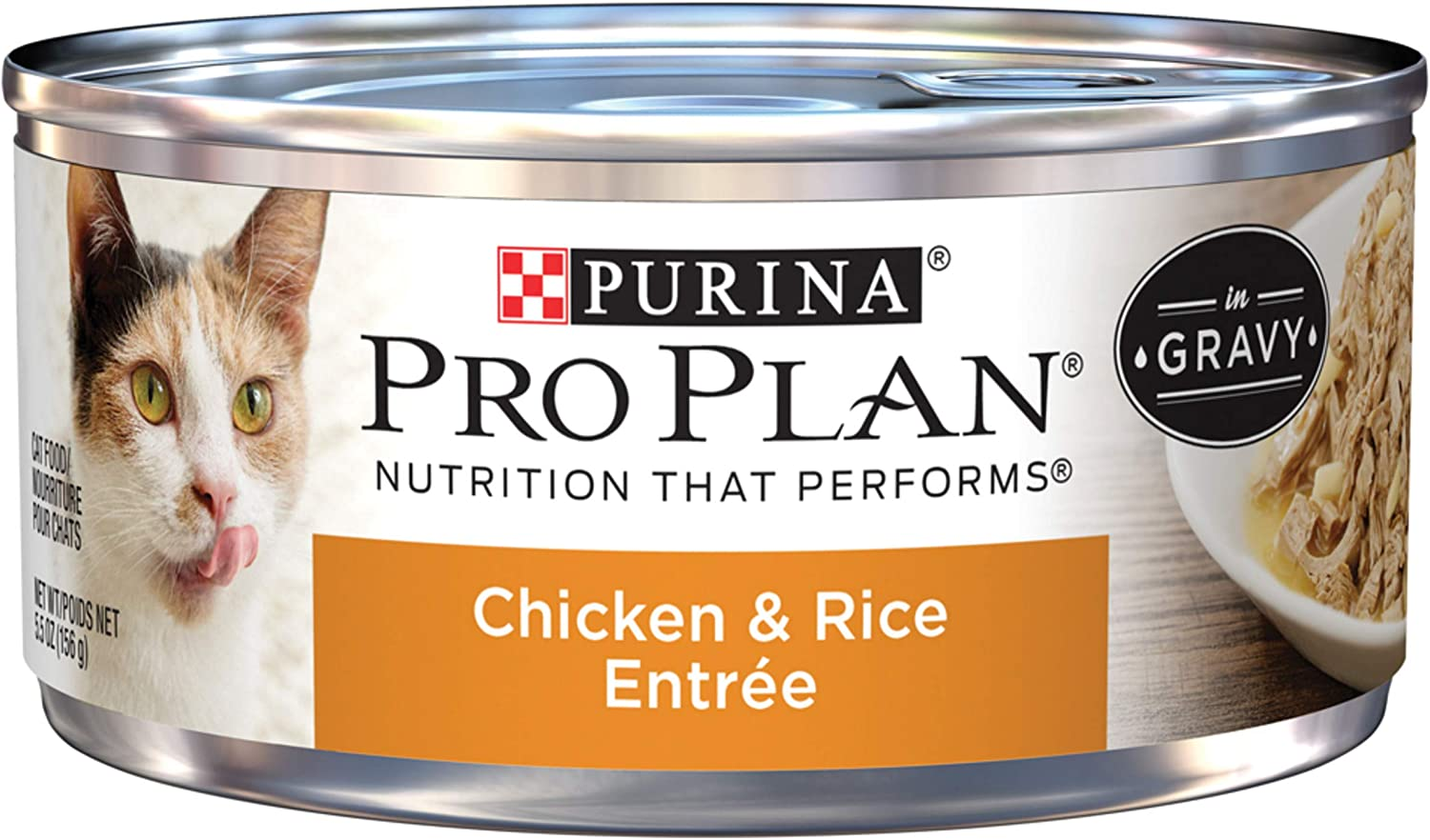 Purina Pro Plan Entrees in Gravy Adult Canned Wet Cat Food