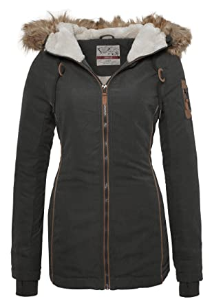 Urban surface damen jacke winterjacke