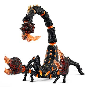 Schleich Eldrador Lava Scorpion Imaginative Toy for Kids Ages 7-12: Toys & Games