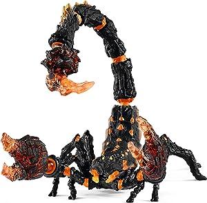 SCHLEICH Eldrador Lava Scorpion Imaginative Toy for Kids Ages 7-12