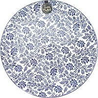 Table Matters FB40105 Floral Blue Dinner Plate, 10.5""