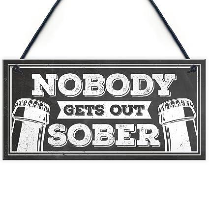 Pub Bar Man Cave Retro Metal Sign//Plaque Novelty Gift VODKA Funny