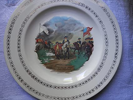 Surrender of Cornwallis John Trumbull Decorative Plate & Amazon.com: Surrender of Cornwallis John Trumbull Decorative Plate ...