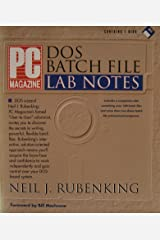 PC Magazine DOS Batch File Lab Notes/Book and Disk Paperback
