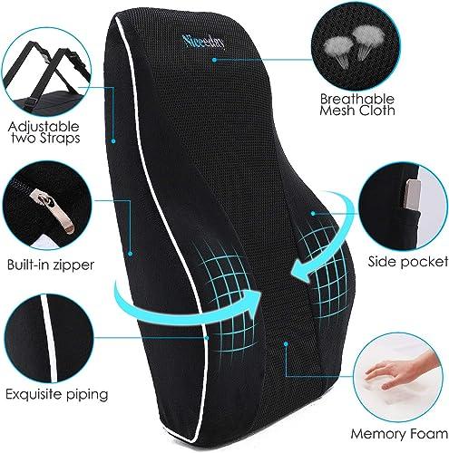 Lumbar Support Pillow for Office Chair Car