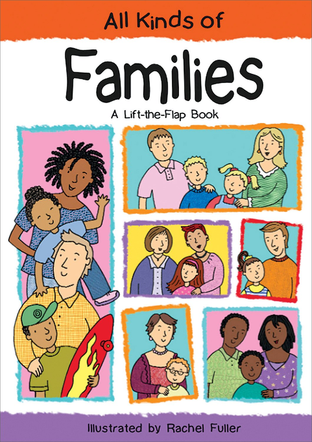 Read Online All Kinds of Families: A Lift-the-Flap Book PDF