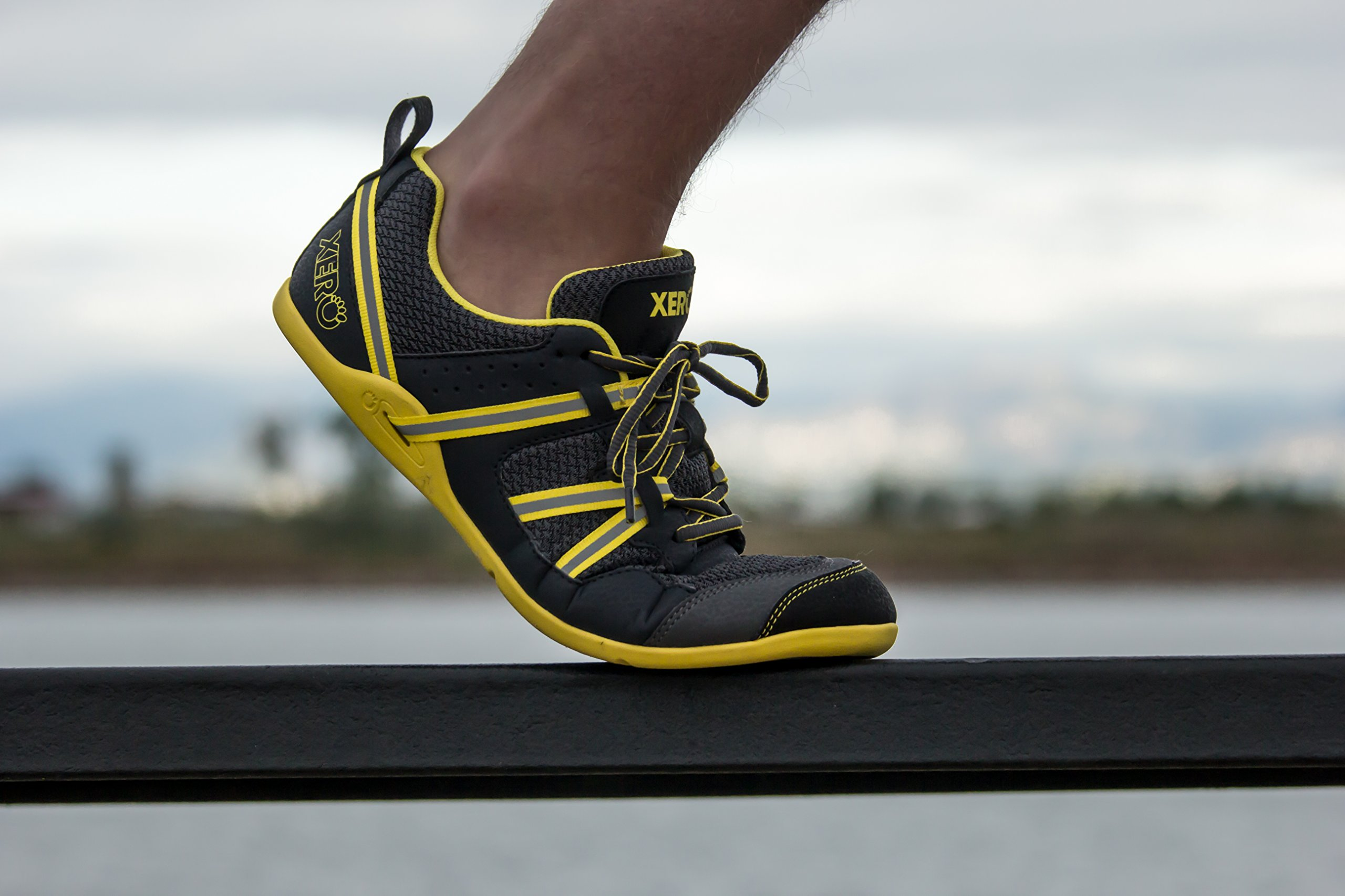 Xero Shoes Prio - Men's Minimalist Barefoot Trail and Road Running Shoe - Fitness, Athletic Zero Drop Sneaker - True Yellow by Xero Shoes (Image #8)