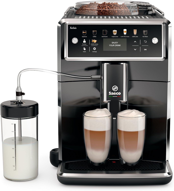 Saeco sm7580/00 Xelsis – Cafetera automática, pantalla LED con ...