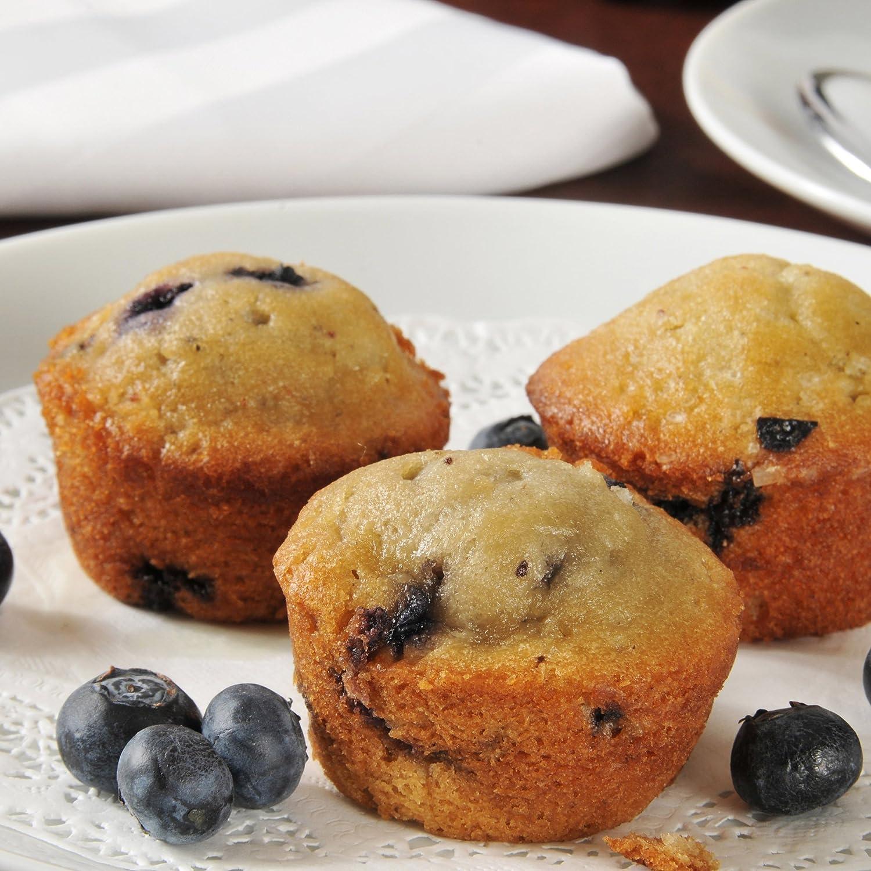 Mini magdalenas Pan- silicona Cupcake/magdalenas/Brownie antiadherente reutilizable Hornear Tray- microondas, horno, congelador, y se puede lavar en ...