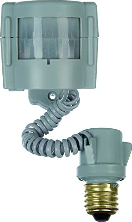Xodus Innovations HS3100D Motion Activated Indoor/ Outdoor Light Adapter up to 150 Watts with Adjustable
