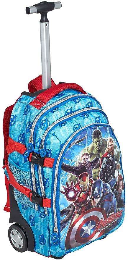 6cbb5f057b Avengers Age of Ultron - Zaino Trolley: Amazon.it: Valigeria