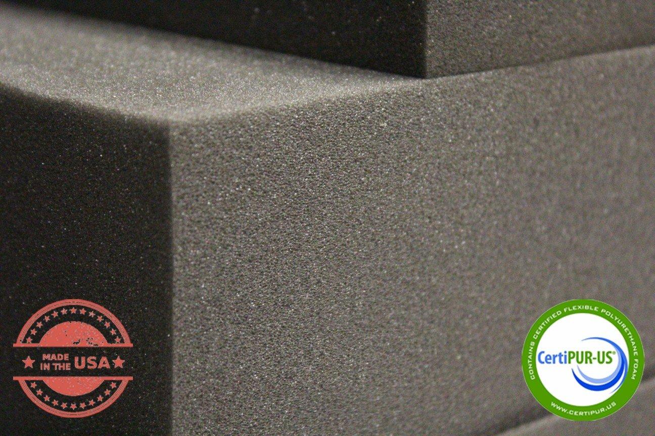 USA Made NF33 Seat Replacement, Foam Padding 40 X 82 Upholstery Rubber Foam Sheet Cushion 5 x 40 x 82 Rubber Foam Sheet