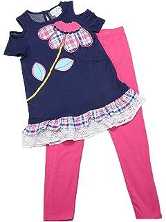or 8 Emily Rose 2 Piece Legging Set Cold Shoulder Elephant size 6 7