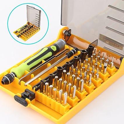 Hltd 45 en 1 Juego de destornillador Torx de precisión, herramienta ...