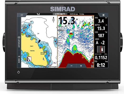 Simrad GO7 XSR Combo con mapa base: Amazon.es: Coche y moto