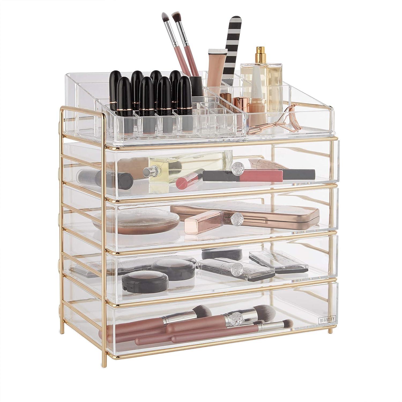 Beautify 5 Tier Cosmetic Organiser