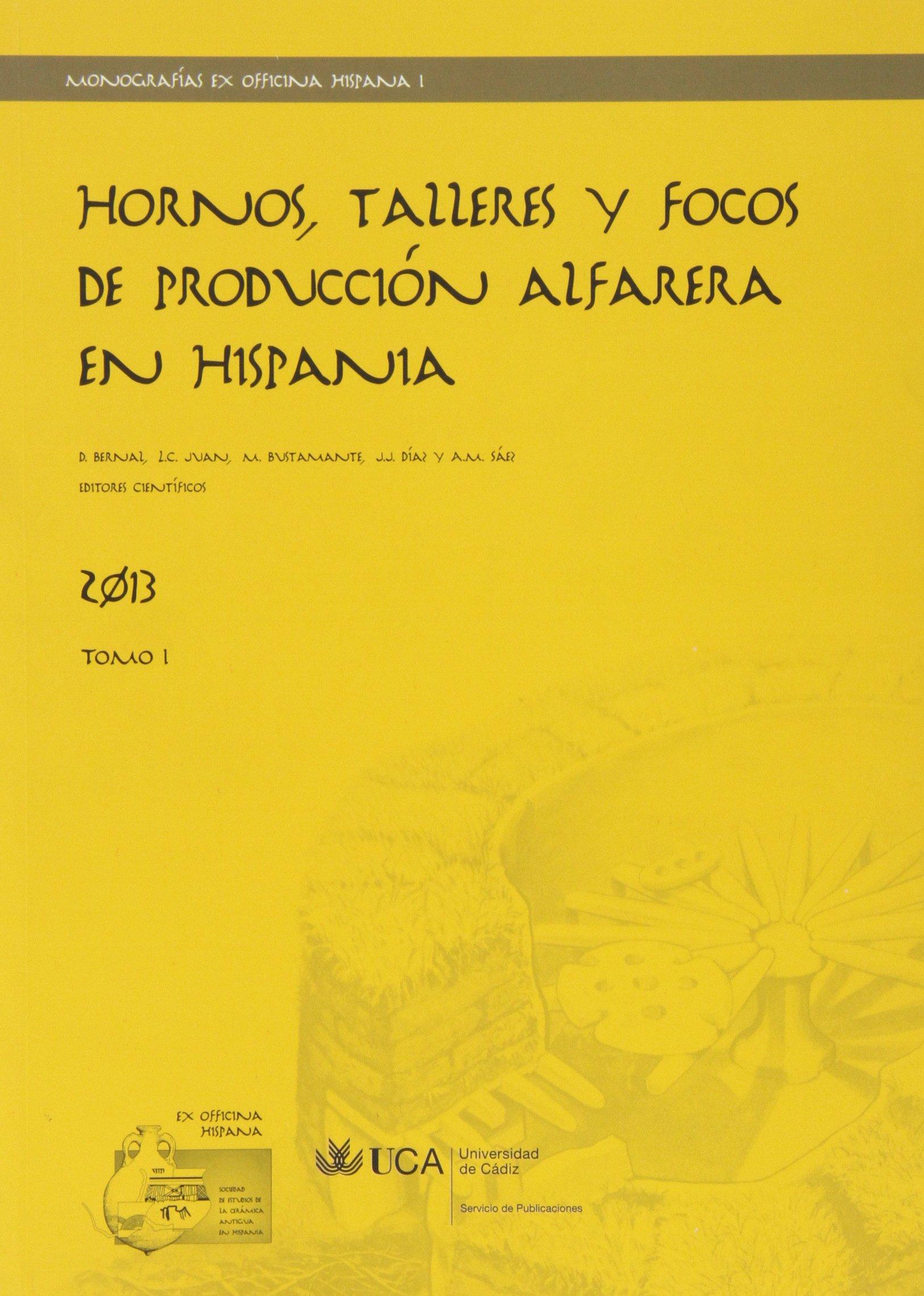 Download Hornos, talleres y focos de producción alfarera en Hispania pdf
