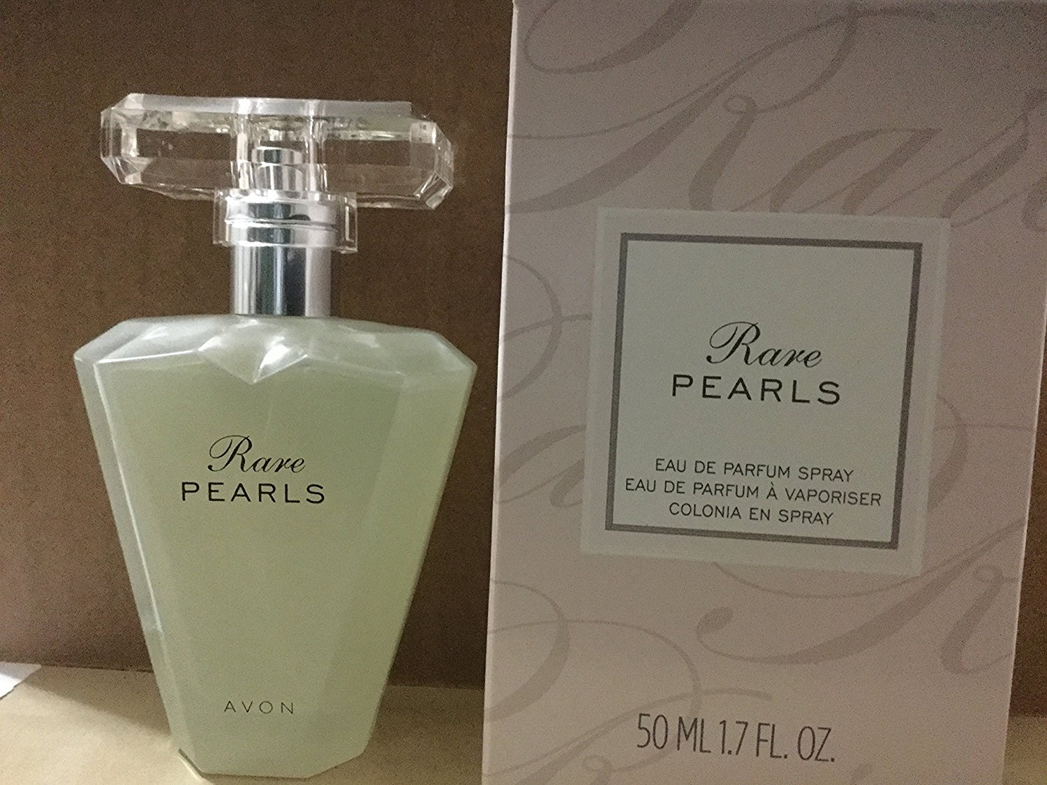 Avon Rare Pearls Eau De Parfum Spray for Women, 1.7 Fluid Ounce