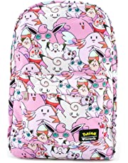 Loungefly Pokemon Fairy Type Pink All Over Print Backpack