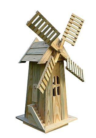 shine company decorative windmill natural - Decorative Windmills
