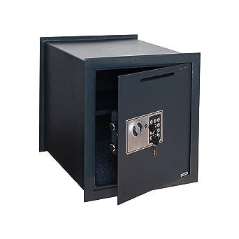 Caja Fuerte de Depósito de Empotrar Electrónica con Anti Bounce System: Amazon.es: Industria, empresas y ciencia