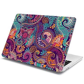 Batianda Plástico Funda Dura Carcasa para MacBook Pro 13 2016 & 2017 & 2018 Modelo,Art