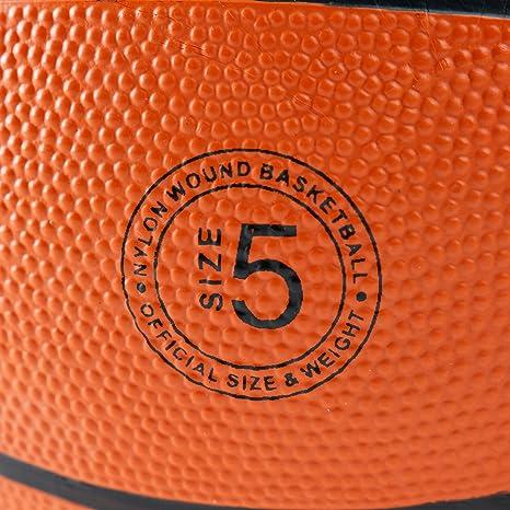 Ultrasport Balón de Baloncesto, optimo para Todo Tipo de Superficies, Apto para Interior y Exterior, Muy Buen Agarre y Tacto excelente Gracias a su Superficie granulada, Naranja: Amazon.es: Deportes y aire libre