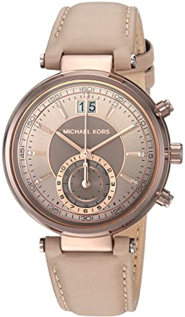 Michael Kors Womens Sawyer Brown Watch MK2629
