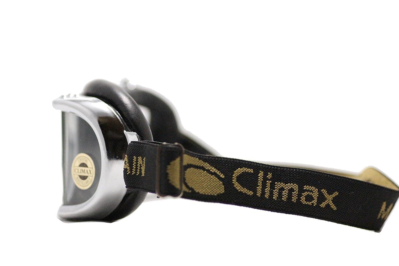 Climax Brille 501 chrom Motorrad Brille