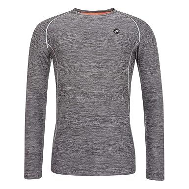9ea4717eca8 Liverpool FC LFC Mens Slim Fit Raglan Long Sleeve Grey Marl T-Shirt NWT  Official  Amazon.co.uk  Clothing